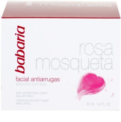 Babaria Rosa Mosqueta крем проти зморшок з ліфтинговим ефектом 4
