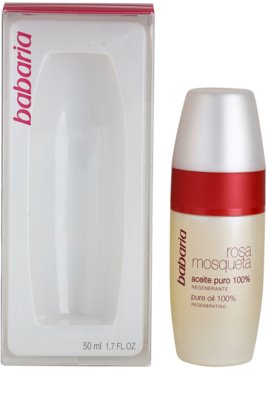 Babaria Rosa Mosqueta олійка для обличчя та зони декольте 3
