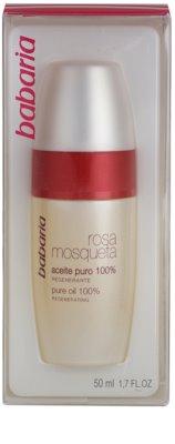 Babaria Rosa Mosqueta олійка для обличчя та зони декольте 4