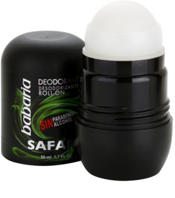 Babaria Safari desodorizante roll-on 1