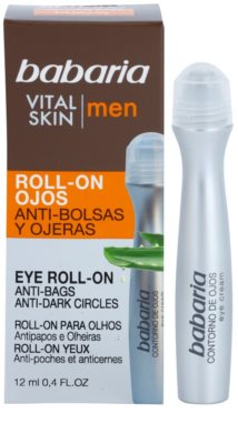 Babaria Vital Skin roll-on pod oczy przeciw obrzękom i cieniom 2