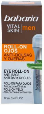 Babaria Vital Skin рол-он за очния контур против отоци и тъмни кръгове 3
