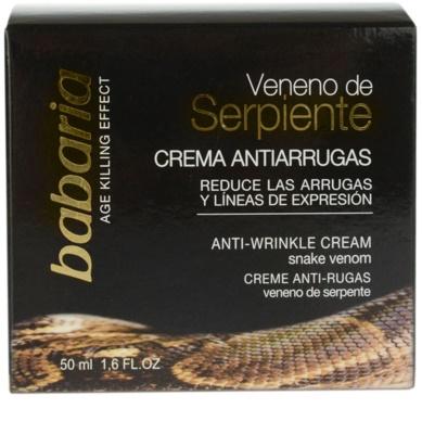 Babaria Snake Venom nappali és éjszakai ránctalanító krém kígyóméreggel 2