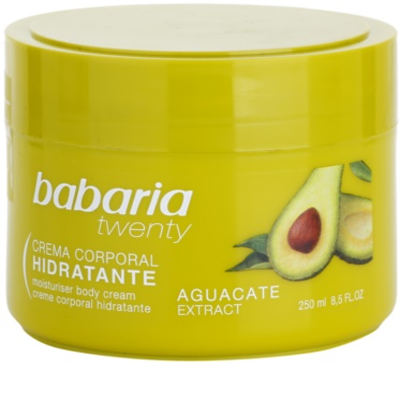 Babaria Twenty crema corporal con aguacate
