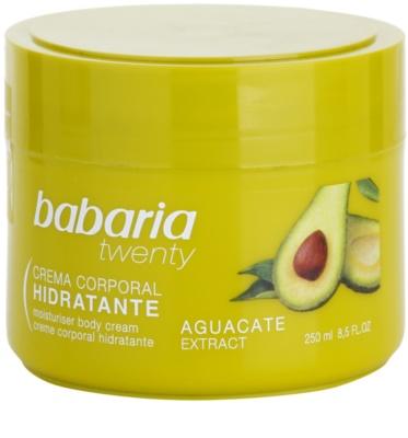 Babaria Twenty creme corporal com abacate