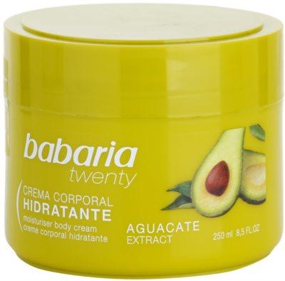 Babaria Twenty крем для тіла з авокадо