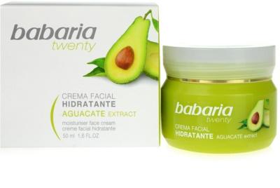 Babaria Twenty crema facial hidratante 1