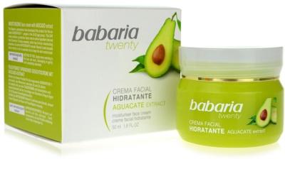 Babaria Twenty crema facial hidratante 2