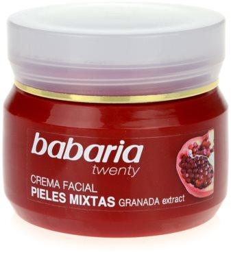 Babaria Twenty feuchtigkeitsspendende Gesichtscreme für Mischhaut