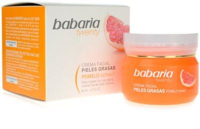 Babaria Twenty Hautcreme für fettige Haut 2