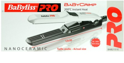 Babyliss Pro Straighteners Baby Crimp 2151E праска для волосся 1