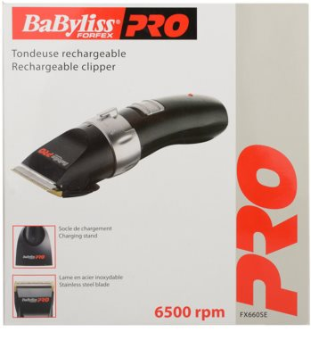 Babyliss Pro Clippers Forfex FX660SE masina de tuns parul 2