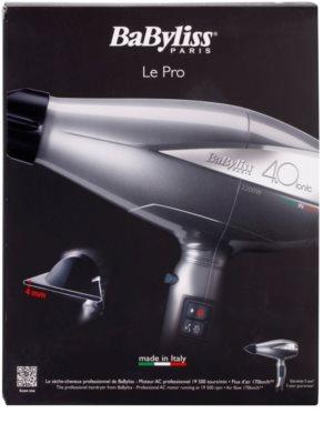 BaByliss Professional Hairdryers Le Pro 4.0 ionic secador de pelo 4