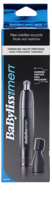 BaByliss For Men Daimond Capture E655E aparador de pêlos do nariz e orelhas 6