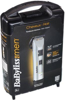 BaByliss For Men WTech Titanium E780E prirezovalnik za lase 9