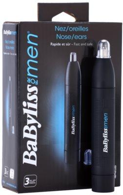 BaByliss For Men E650E zastřihovač chloupků do nosu 1