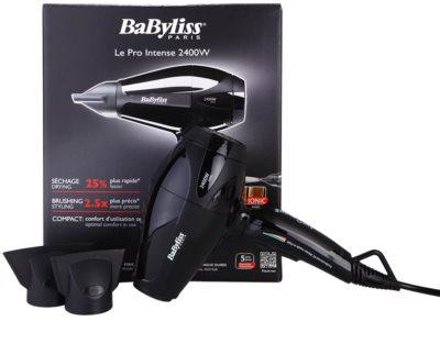 BaByliss Professional Hairdryers Le Pro Intense 2400W bardzo efektywna suszarka jonizująca 2