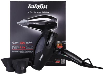 BaByliss Professional Hairdryers Le Pro Intense 2400W zelo močan ionizirajoči sušilec za lase 2