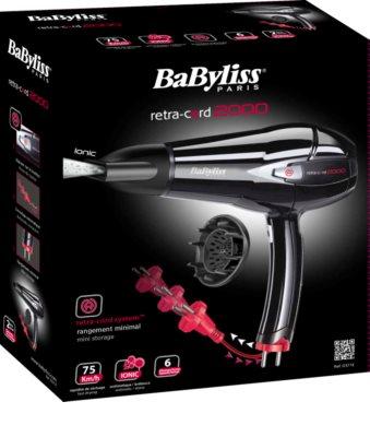 BaByliss Retra - Cord 2000 D371E uscator de par 6