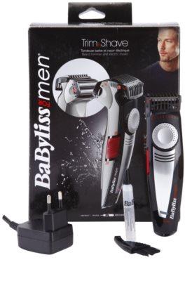 BaByliss For Men Trim and Shave prirezovalnik in strojček za mokro britje 3