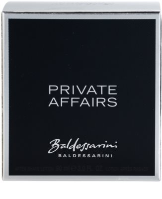 Baldessarini Private Affairs after shave para homens 3