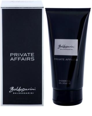 Baldessarini Private Affairs sprchový gél pre mužov