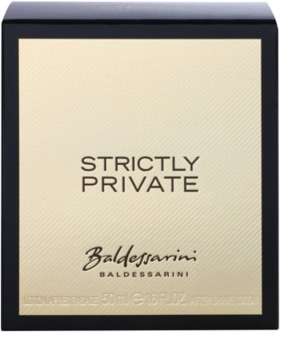 Baldessarini Strictly Private loción after shave para hombre 4