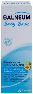 Balneum Baby Basic negovalno olje za kopel za suho in občutljivo kožo za otroke od rojstva 2
