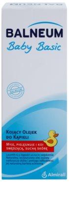 Balneum Baby Basic zklidňující koupelový olej pro suchou a svědící pokožku pro děti od narození 2