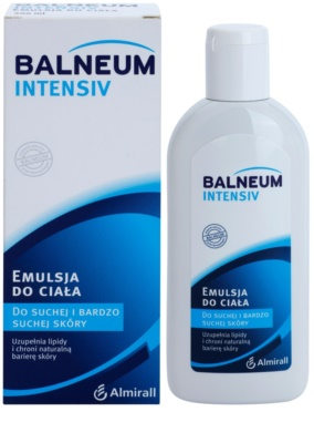 Balneum Intensiv emulzia na telo pre suchú až veľmi suchú pokožku 1