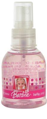 Barbie Lolly Pop spray corporal para niños