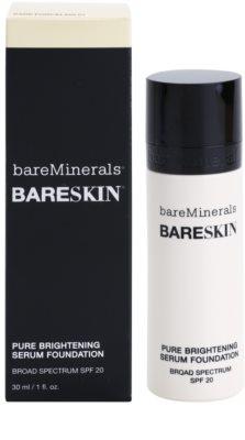 BareMinerals bareSkin® rozjasňující podkladové sérum SPF 20 1