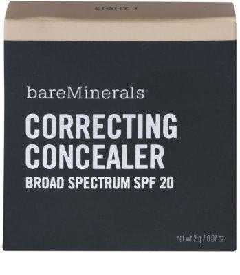BareMinerals Correcting Concealer corector cremos SPF 20 2