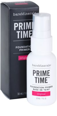 BareMinerals Prime Time Make-up-Grundlage unter dem Make-up 1