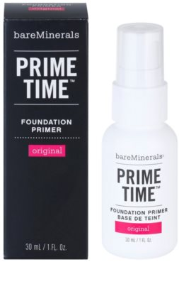 BareMinerals Prime Time Make-up-Grundlage unter dem Make-up 2