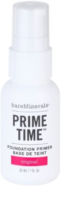 BareMinerals Prime Time Make-up-Grundlage unter dem Make-up