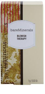 BareMinerals Treat korrekciós púder a bőr tökéletlenségei ellen ecsettel 2