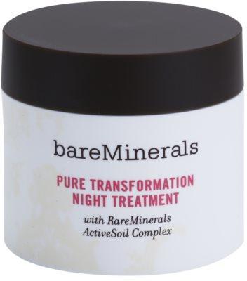 BareMinerals Treat polvos de noche regeneradores para suaviazar poros 1