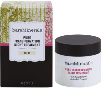 BareMinerals Treat polvos de noche regeneradores para suaviazar poros 2