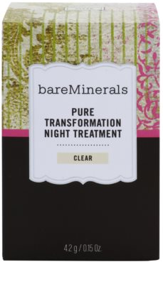 BareMinerals Treat polvos de noche regeneradores para suaviazar poros 3