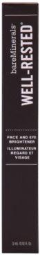 BareMinerals Well-Rested® rozjasňovač na tvář a oční okolí 3