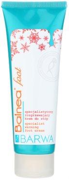 Barwa Balnea Creme für die Füße mit wärmender Wirkung