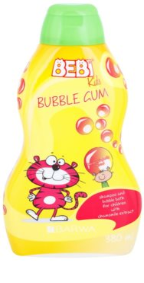 Barwa Bebi Kids Bubble Gum шампунь та піна для ванни 2в1