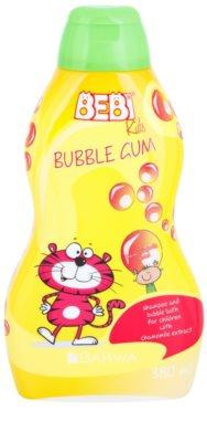 Barwa Bebi Kids Bubble Gum Shampoo und Badeschaum 2in1