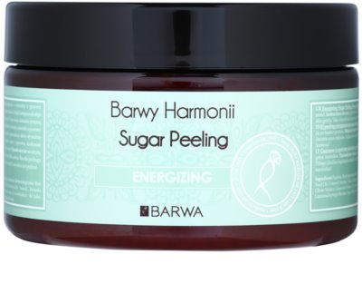 Barwa Harmony Energizing exfoliant din zahar efect regenerator