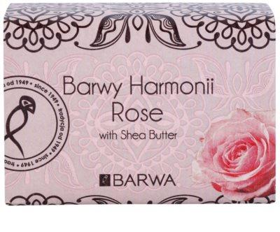 Barwa Harmony Rose mydło z masłem shea