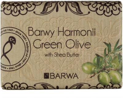 Barwa Harmony Green Olive mýdlo s bambuckým máslem