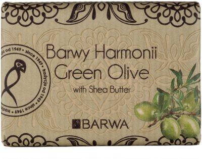 Barwa Harmony Green Olive sapun unt de shea