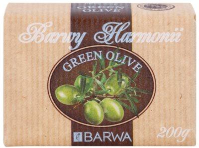 Barwa Harmony Green Olive mýdlo s bambuckým máslem 1