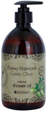 Barwa Harmony Green Olive sprchový olej bez parabénov